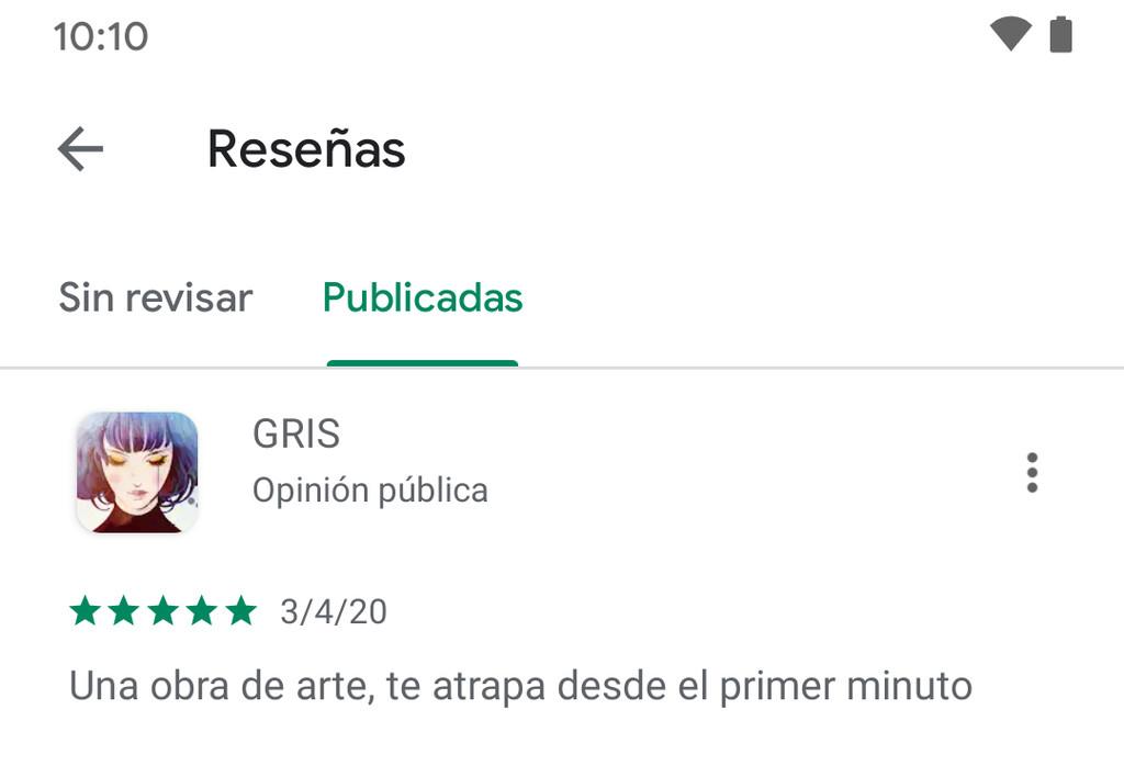 Cómo revisar tus reseñas y valoraciones en Google™ Play Store