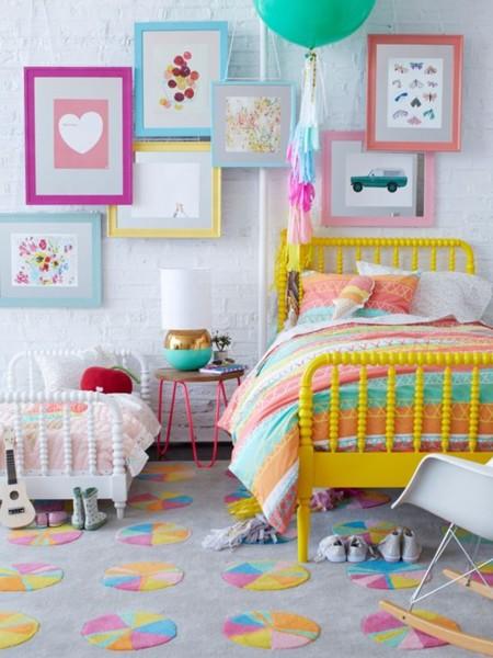 15 dormitorios infantiles a todo color