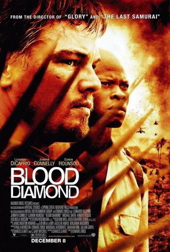 Nuevo póster de 'Diamante de Sangre' con Leonardo DiCaprio