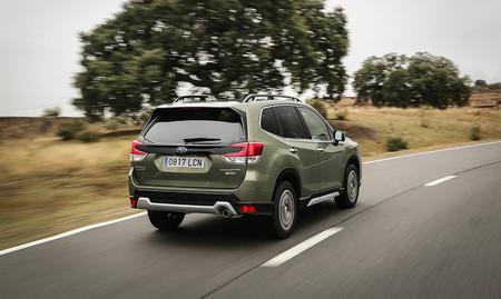 Subaru Forester híbrido prueba
