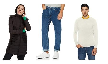 Chollos en tallas sueltas de pantalones, chaquetas y sudaderas de marcas como Levi's, Superdry, Desigual o Jack & Jones en Amazon