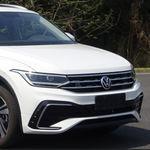 """El Volkswagen Tiguan X deja al descubierto su silueta """"coupé"""" en estas fotos espía"""
