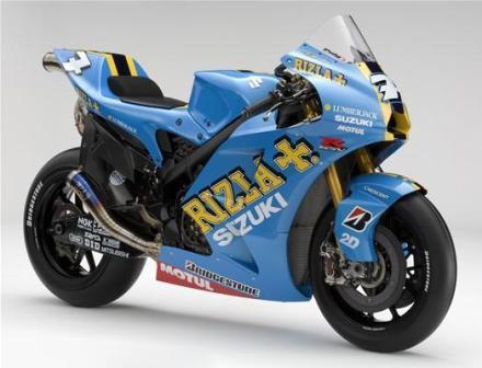 La nueva Suzuki GSV-R de MotoGP