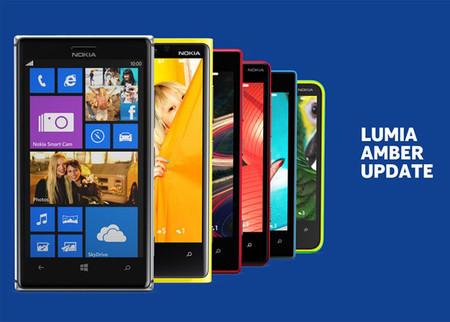 La actualización Amber para los Nokia Lumia empieza a llegar a México