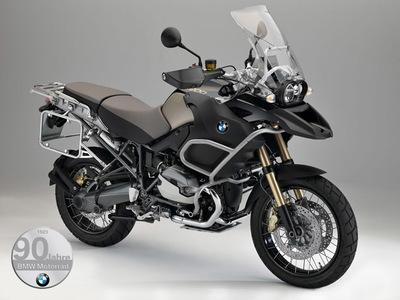 Edición 90 Jahre BMW Motorrad de las tres bóxer punteras de la marca