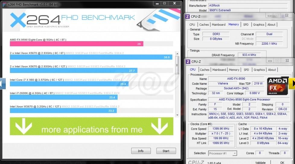 Foto de Rendimiento AMD FX-9590 a 5GHz (1/11)