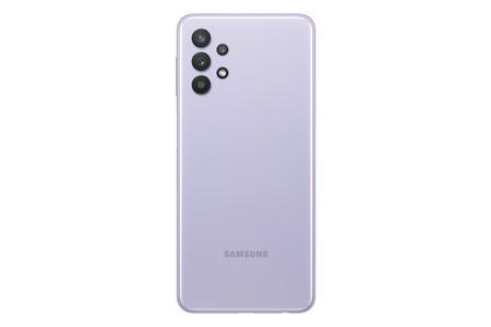 Samsung Galaxy A32 5G trasera lila