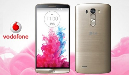 Precios LG G3 con Vodafone en color gold exclusivo y comparativa con Movistar, Orange y Yoigo