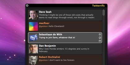 Otra aplicación que se apunta a la AppStore: Twitterrific