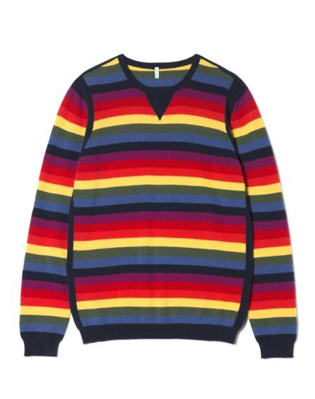 Jersey de rayas de Benetton