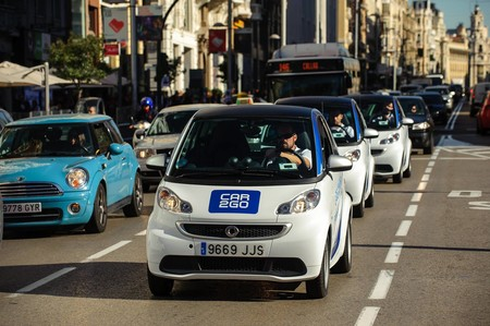 Car2go smart fortwo carsharing