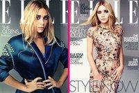 Las Olsen en Elle y para que no haya pelea de gatas, cada una su portada