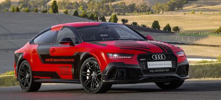 Él es Robby, el Audi RS7 autónomo que va más rápido que cualquier humano en el circuito