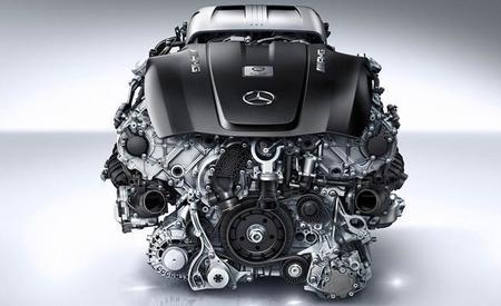 Mercedes-Benz confirma el V8 biturbo del AMG GT