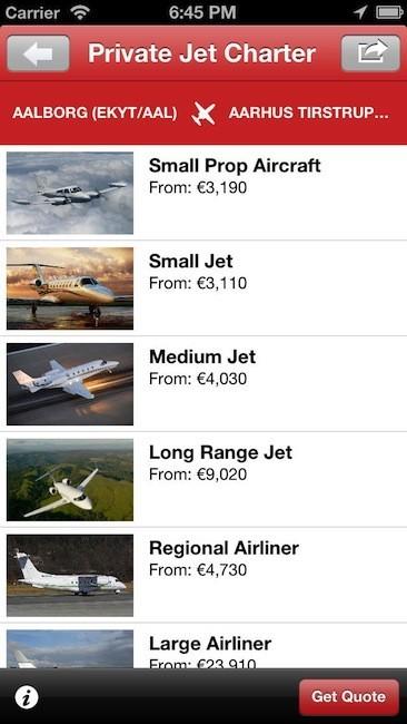 ¿Ganas de reservar un jet privado? Llega una nueva aplicación móvil para este servicio: PrivateFly