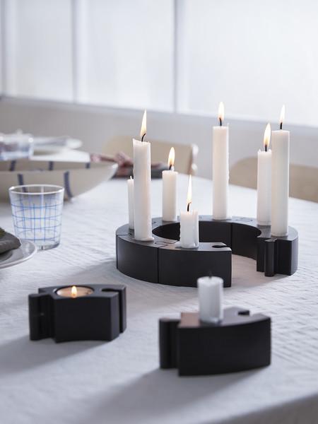 Ikea candelabros