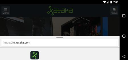 Así puedes probar ya la nueva interfaz experimental de Chrome para Android