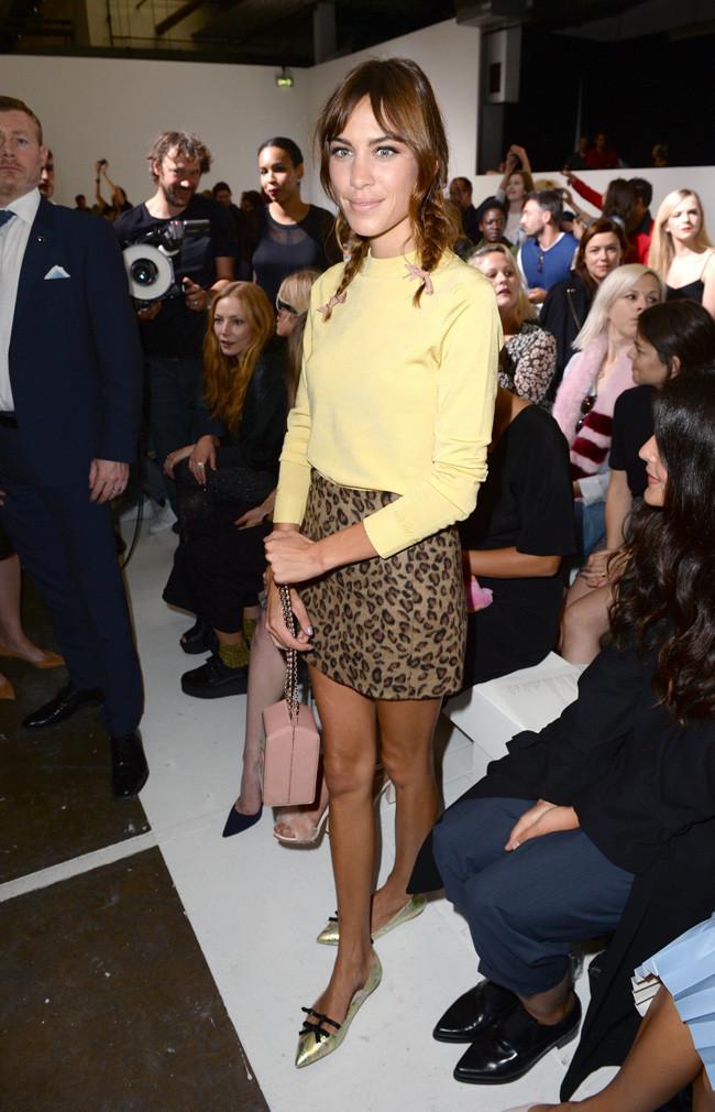 Alexa Chung Dior Amarillo