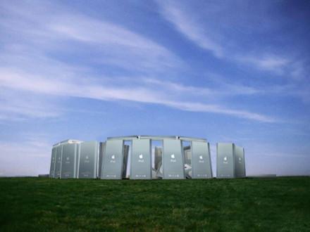 Imagen de la semana: Stonehenge de iPods