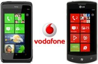 Precios LG Optimus 7 y HTC 7 Trophy con Vodafone