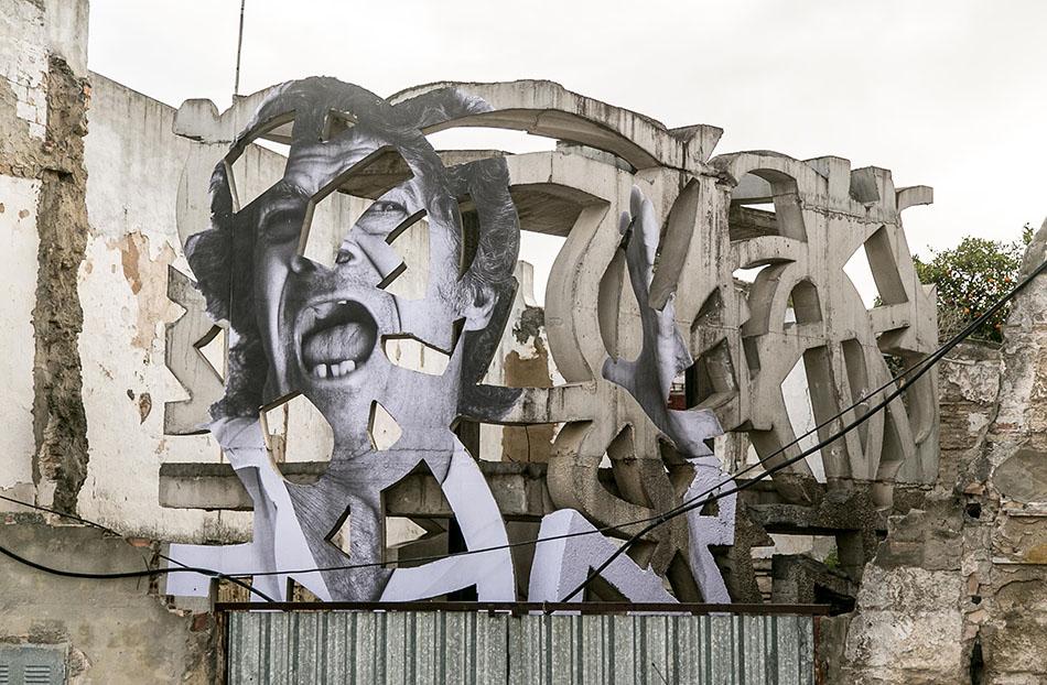 El fot grafo juan carlos toro inunda la ciudad de jerez - Murales con fotos ...