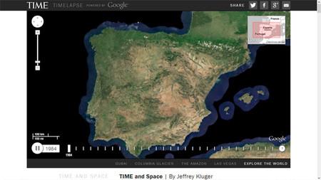 La revista Time, Google, la NASA y el USGS se unen mostrarnos los últimos 25 años de la Tierra