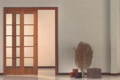 Buenas soluciones para espacios peque os sustituir nuestras puertas abatibles por correderas - Soluciones para espacios pequenos ...