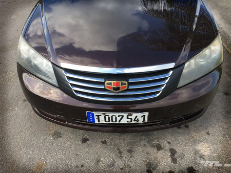 Geely Emgrand EC7 frontal