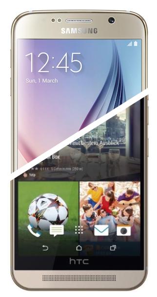 Samsung Galaxy S6 y HTC One M9, toda la información