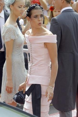 Boda Real en Mónaco: el look de Carlota Cashiragui