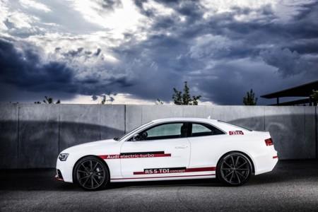 Audi RS 5 TDI, récord petrolero eléctrico en el circuito de Sachsenring