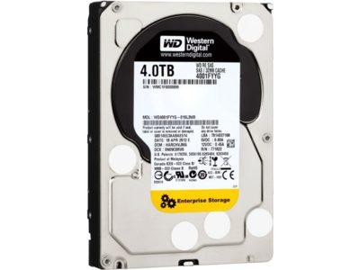 Western Digital lleva los 4 TB a sus discos duros más profesionales