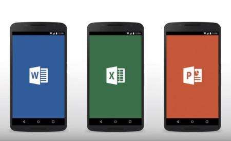 Microsoft Word, Excel y Power Point para Android, ahora con más opciones para compartir