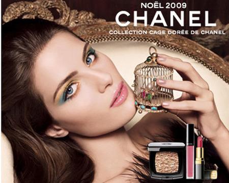 Colección de maquillaje de Chanel para la Navidad 2009