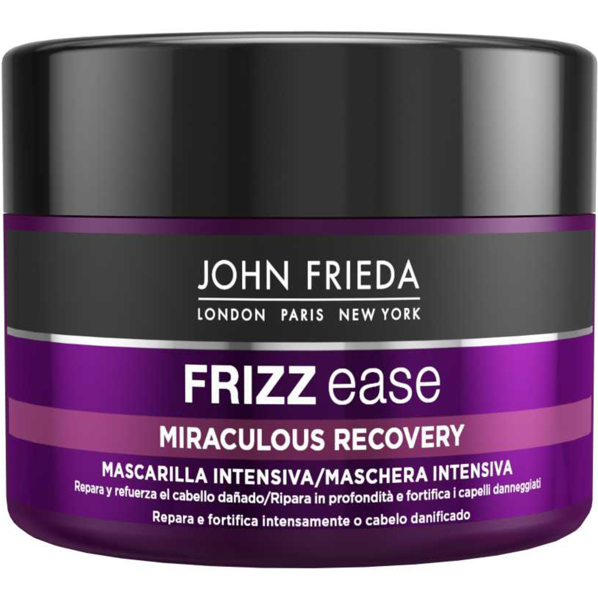 Mascarilla intensiva para cabello dañado Frizz Ease de John Frieda