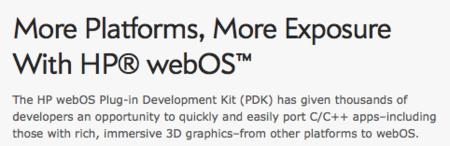HP webOS, un cambio de denominación esperado