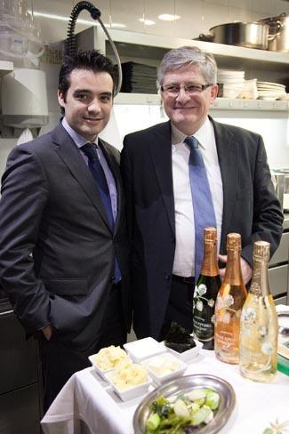 Entrevistamos a Jorge Navarro Dols, director de champagne Perrier-Jouët para España