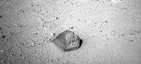 La primera roca marciana que analizará el Curiosity tiene forma de pirámide
