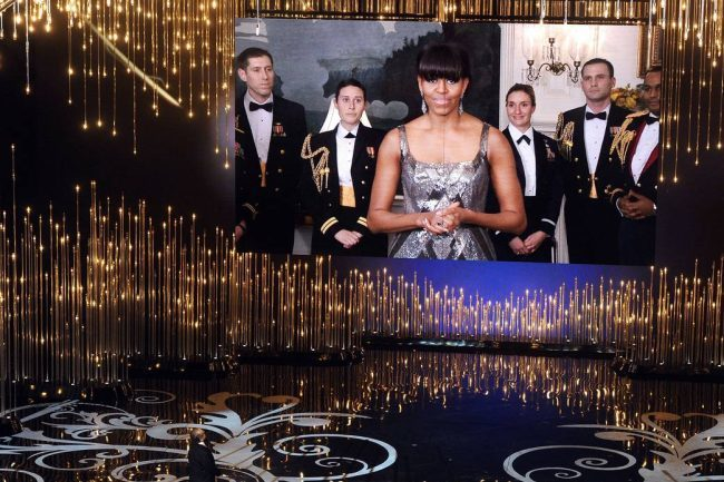 Michelle Obama en los Oscar