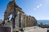 Volubilis, una ciudad romana en Marruecos