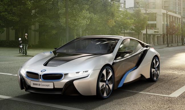 BMW i8 Concept del