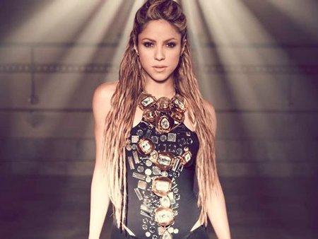 Shakira ya no hace amigos en el Bernabeu