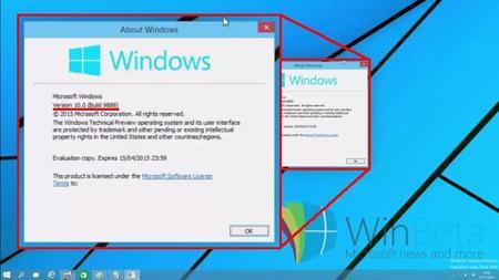 Una nueva build de Windows 10 se deja ver en la red con mejoras en la interfaz y el núcleo 10.0