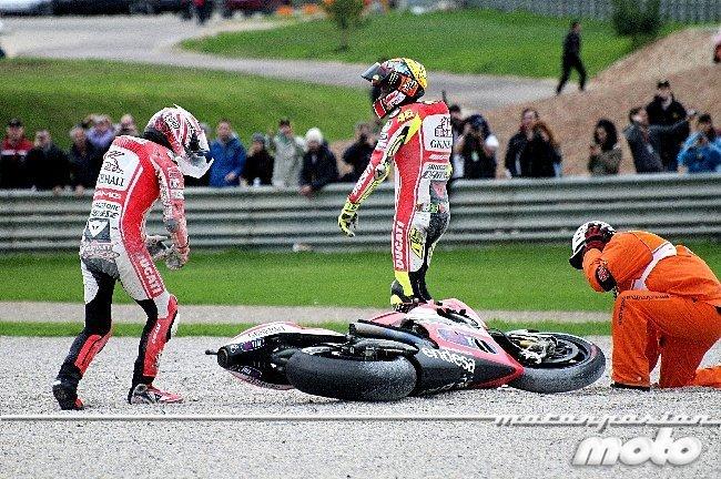 Rossi caido