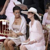 Las mejor vestidas de la boda real de Alberto de Mónaco y Charlene Wittstock