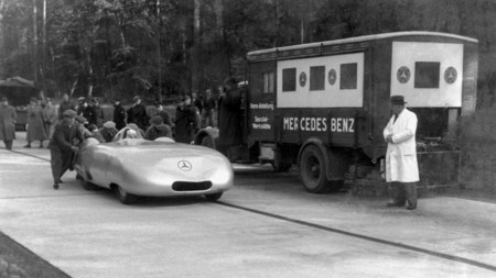 Mercedes Benz 1936 Record Velocidad 110