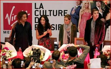 Los chicos de High School Musical 3 también conquistan París