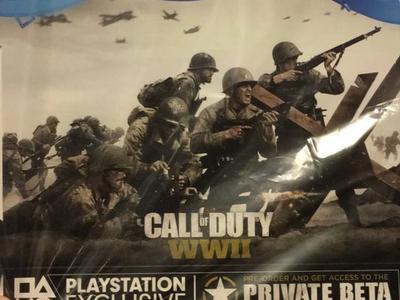 La beta privada de Call of Duty: WWII llegará primero a PS4; se filtra la edición Pro del juego que incluye el pase de temporada