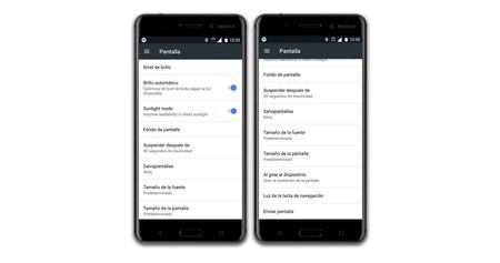 Nokia 6 Ajustes Pantalla