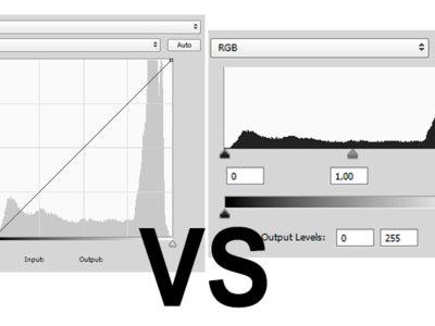 Por qué es mejor usar las curvas que los niveles para ajustar el contraste a tus fotografías